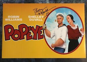 GFA Popeye Olive '80 Movie SHELLEY DUVALL Signed 12x18 Photo PROOF S14 COA