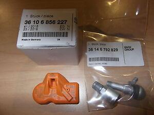 MINI Cooper TPMS Tire Monitor Sensor And Valve Stem 2010-2014 Genuine OEM