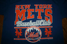 New York Mets Baseball Club T-Shirt tee shirt Men X-Large XL Vintage 1990 Logo 7