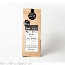 2 x 80g SUKI APPLE LOVES MINT LOOSE LEAF TEA - APPLE & PEPPERMINT -AWARD WINNING