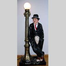 CHARLY CHAPLIN mit Laterne 120 cm CHARLIE Deko Figur Werbefigur KINO Dekoration