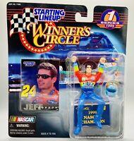 NIP 1997 Jeff Gordon #24 Kenner NASCAR Driver Starting Lineup Winner's Circle