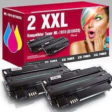 2 XXL Toner für Samsung ML1910 ML1915 ML2525 ML2580N SCX4623F SF650P SCX4600FN