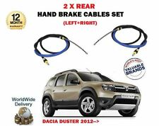 FOR DACIA DUSTER 1.6 1.5 DCI 2012--> NEW 2 X REAR LEFT + RIGHT HAND BRAKE CABLES