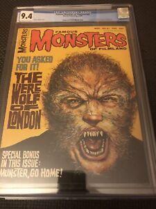 Famous Monsters of Filmland #41 CGC 9.4 1966