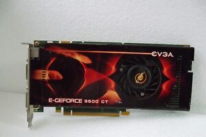 EVGA Nvidia GeForce 9600 GT 512MB PCIe x16 Video Card DVI TV-Out 512-P3-N861-AR