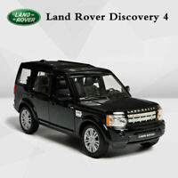 1:24 Welly Land Rover Discovery 4 Black Scale Die-Cast Metal Model Cars In Box