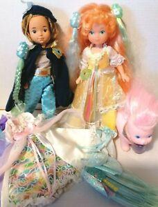 Lady Lovely Locks Lockenlicht lot alt 1987 Mattel vintage