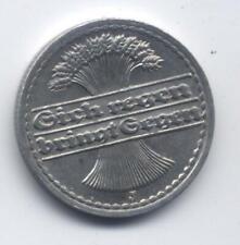 Deutsches Reich 50 Pfennig 1922 J Ährengarbe