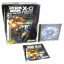 Iron Man / X-O Manowar in Heavy Metal for PC CD-ROM in Big Box by Acclaim, 1996