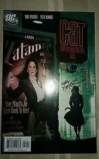 Dc Comics Catwoman # 50 Feb 2006 Adam Hughes cover Pfeifer signed