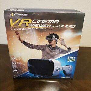 Xtreme VR Cinema Viewer With Audio Virtual Reality Headset For Smartphone