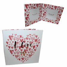 Valentine's Paperwrap Folding Double Frame - I Love Us