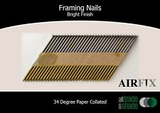 Framing Nails – 34 Degree - Bright - Smooth Shank - Box: 3000 - Size: 75x3.05mm