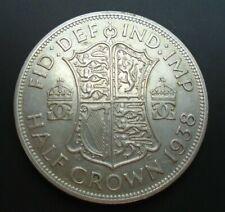 More details for 1938 king george vi bare head 1 silver half crown ref spink 4080 a2