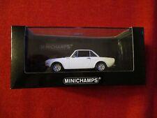 MINICHAMPS® 400 125700 1:43 Lancia Fulvia 1600 HF 1970 weiß NEU OVP