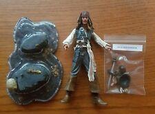 "NECA JACK SPARROW 7"" FIGURE Pirates Of The Caribbean Complete"