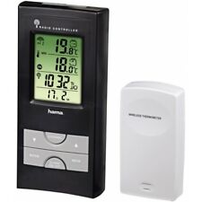 Hama EWS 165 Electronic Weather Station Black