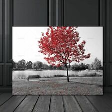 Canvas Painting Pictures Wall Art Prints Landscape Flowers Tree Home Decorations