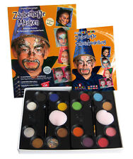 Eulenspiegel Schmink-Palette, Zauberhafte Masken Palette mit Schminkanleitung