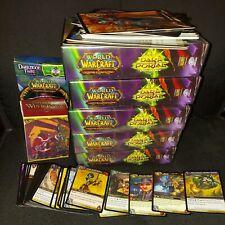 World of Warcraft Cards Lot No Loot Cards or rares Cards Oversized Cards Bulk