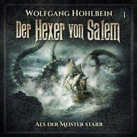 WOLFGANG HOHLBEIN - DER HEXER VON SALEM-FOLGE 1  2 CD NEU