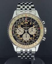 Breitling Navitimer Cosmonaute II Lemania A12020 Manual Wind 24H Vintage Box+P