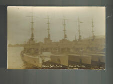 Mint WW 1 German Navy Torpedo Boat Flotilla Real picture Postcard Kriegsmarine