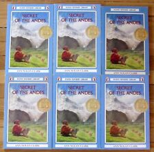 Lot 6 SECRET OF THE ANDES Ann Nolan Clark guided reading