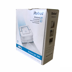 iRobot Braava Jet 240 Mopping Robot Compact Smart And Simple to Use Open Box