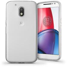 Glossy TPU Gel Case for Motorola Moto G4 Play XT1601 Skin Cover + Screen Prot
