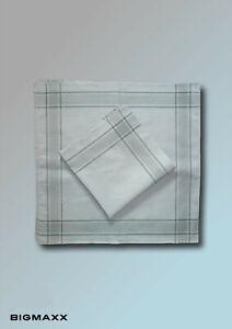 4 Piece Bundeswehrtaschentücher 50x50cm Men's Handkerchief Handkerchiefs