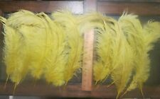 Lot 99 - Sixteen Colored Ostrich Feathers Material Fly Tying Supplies