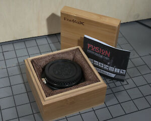 Fotodiox Fusion Adapter Mounts Canon E Mount Lens On Fuji GFX Body
