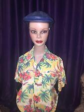 Vintage Hawaiian shirt ladies original 1960's sm-med!