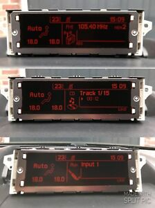 Genuine Peugeot 407 Citroen C5 RD4 Multi-function Display Screen 60 DAY WARRANTY