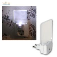Sensor LED Nachtlicht Notlicht Schlummerlicht Nachtleuchte Steckdosenlicht weiß