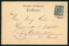 Mayfairstamps Germany 1900s Baden to Wachenheim Postal card wwo28701