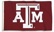 Texas A&M Aggies 35230 LOGO 3x5 Flag w/grommets Outdoor House Banner University