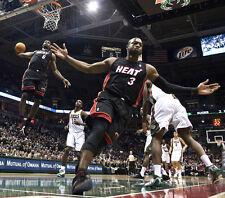 "Lebron James & Dwyane Wade Basketball Star Fabric poster 28"" x 24"" Decor 81"