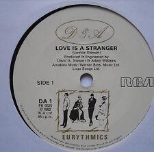 "EURYTHMICS - Love Is A Stranger - Excellent Condition 7"" Single RCA DA 1"