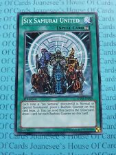 Six Samurai United SDWA-EN028 Common Yu-Gi-Oh Card 1st Edition New