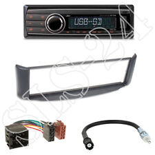 Caliber RMD212 Autoradio + Smart ForTwo (A/C-450) Blende grau + ISO Adapter