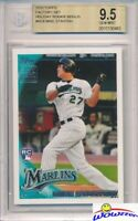 2010 Topps #RC6 Mike Giancarlo Stanton ROOKIE BGS 9.5 GEM MINT Holiday Set RARE