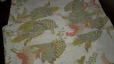 Pottery Barn Floral Standard Shams (2) Pair