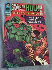 Marvel Comics TALES TO ASTONISH #79 Hulk, Sub-Mariner 1966