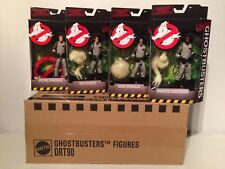Set 4 Classic Ghostbusters Action Figures NEW MOC w Mattel Shipper Box BAF Ghost