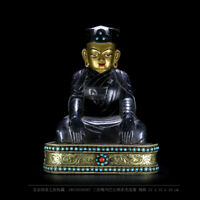Rangjung Dorje the 3rd Karmapa Lama buddha statue Tibetan Buddhism Kagyu statue