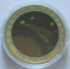 Liberia 10 Dollars 2002 American Heritage Space Shuttle Hologramm