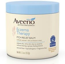 AVEENO Eczema Therapy Itch Relief Balm 11 oz (Pack of 6)